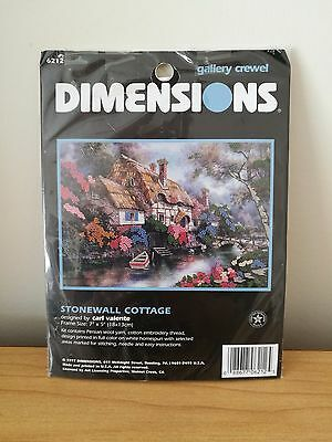 Dimensions Gallery Crewel Kit - Stonewall Cottage