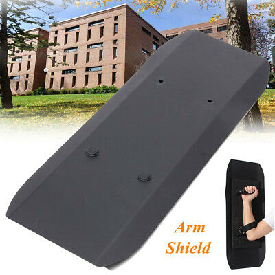 Aluminum Alloy Metal Arm Type Anti-Riot Handheld Shields Self Defence Protection