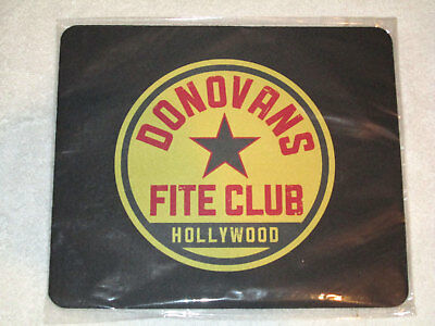"Ray Donovan ""Donovans Fite Club Hollywood"" Computer Mouse Pad- New"