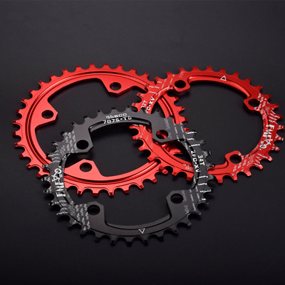 MTB Bike Narrow Wide Round Oval Chainring BCD 104mm 32/34/36/38T For Shimano