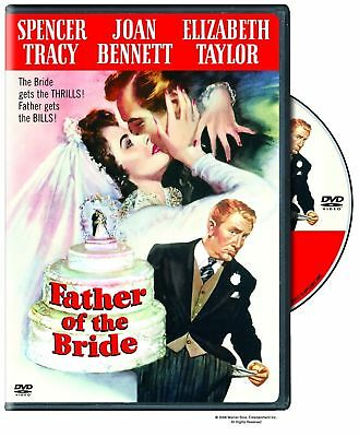 FATHER OF THE BRIDE. Spencer Tracy (1950). Region free. New sealed DVD.