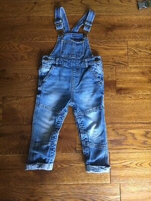 Next Younger Boys Dungarees 18-24 Months