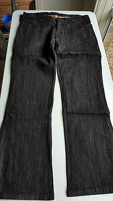 Motorcycle Stretch Kevlar Ladies black jeans size 16