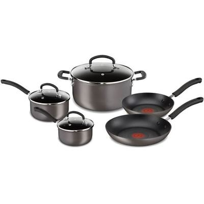 Tefal - Inspire Hard Anodised Non-Stick 5 Piece Cookware Set