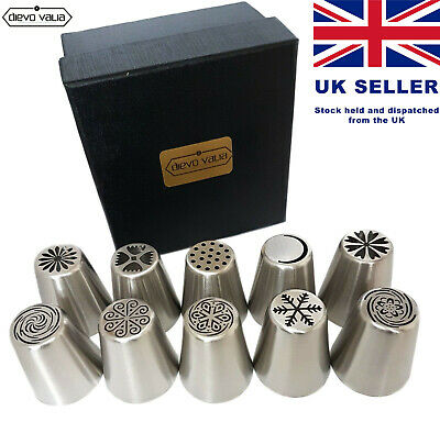 Russian Piping Flower Tips / Nozzles for Cake Icing Decoration. UK Seller.