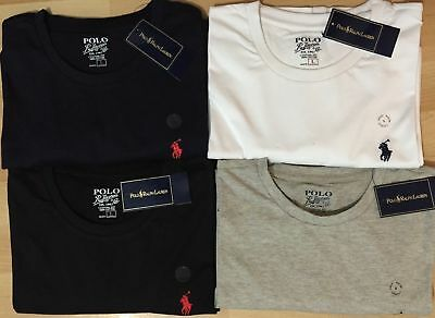 Men's Polo Ralph Lauren Custom Fit Crew Neck Short Sleeve Tees
