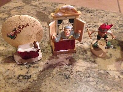 Hallmark Christmas Ornaments Lot of 8