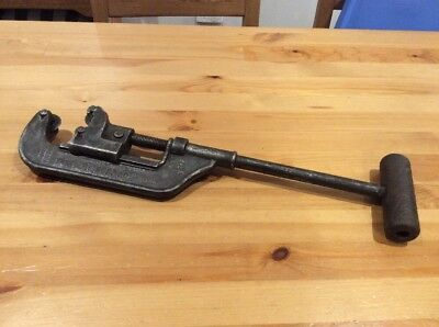 Antique Trimo No.2 Pipe Cutter; Old Vintage Tool; Cast Iron; USA; Unique