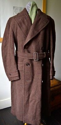 Vintage 1940's Utility Overcoat Unused with Labels