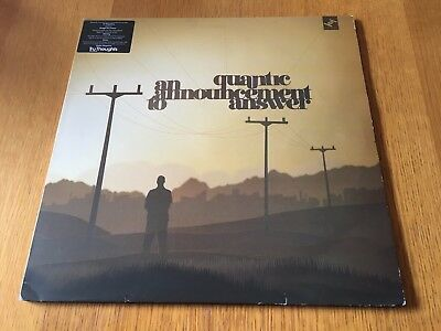 Quantic - An Announcement To Answer - 2006 Double Lp Ex - Look In My Ebay Shop!!