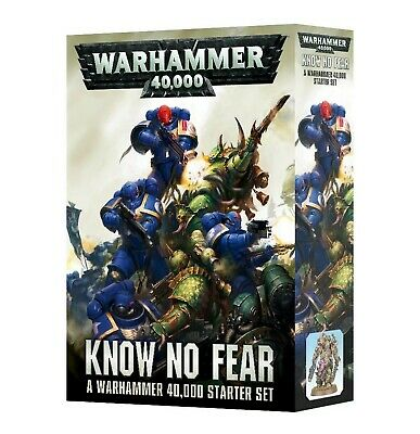 Warhammer 40000: Know No Fear Games WorkshopWarhammer 40,000 New 60010199017