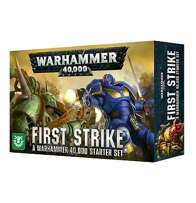 Warhammer 40000: First Strike Games Workshop Warhammer 40,000 New 60010199018