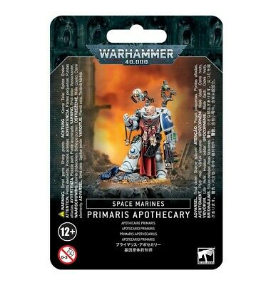 Space Marines Primaris Apothecary Games Workshop Warhammer 40,000 Brand New