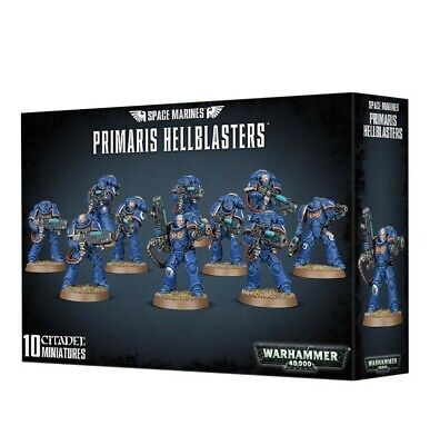 Space Marines Primaris Hellblasters Games Workshop Warhammer 40,000 Brand New