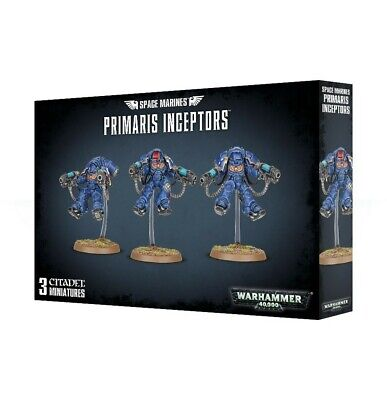 Space Marines Primaris Inceptors Games Workshop Warhammer 40,000 Brand New