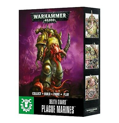 Easy To Build Death Guard Plague Marines Games Workshop Warhammer 40,000 New