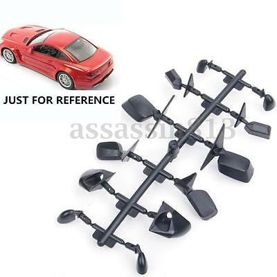 Rear View 6-Style Mirrors Accessories Set For 1:10 RC Car On Road Upgrade Black