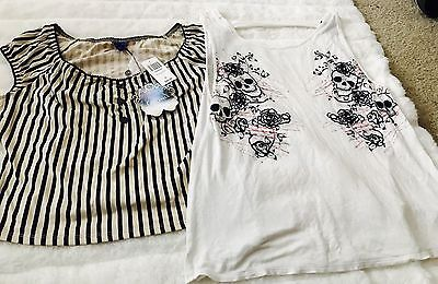 Hot Topic- Two Tops X Large- Lot