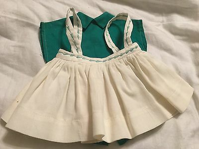 Terri Lee doll Clothing 2 pc. Sports Suit Romper And Skirt  1950s tagged