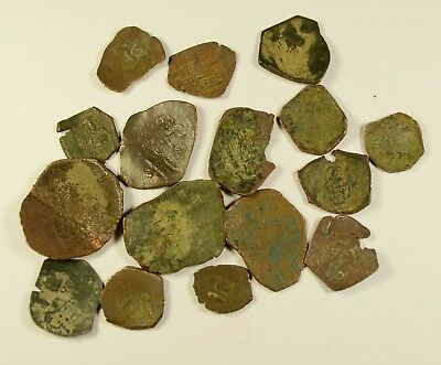 Lot Of 16 Ancient Byzantine Cup Coins