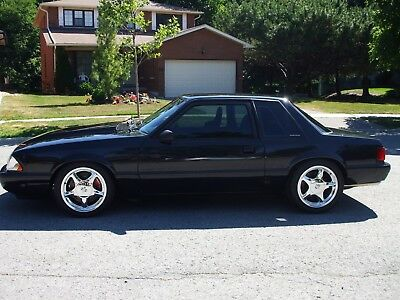 1987 Ford Mustang LX 1987 Mustang Notch body