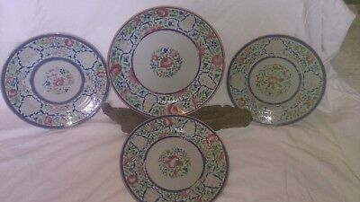 Chinese Floral and Nightingale Famille Rose set 2.....