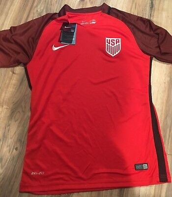 NWT-Men's Nike USA Soccer Dry Fit (size Small)