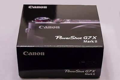 Canon PowerShot G7 X Mark II Digital Camera *BRAND NEW*
