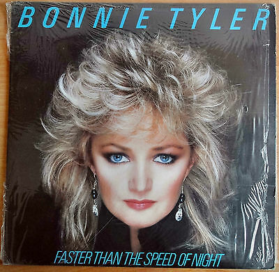 Vinyl LP Bonnie Tyler.  Faster than the speed of night (by CBS 1983)