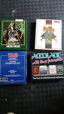Atari ST / STE Boxed games x 4 in Great condition Bargain Job Lot