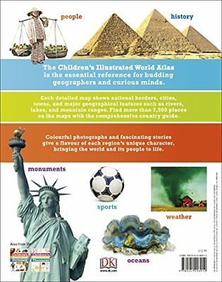 Children's Illustrated World Atlas New Hardback Book