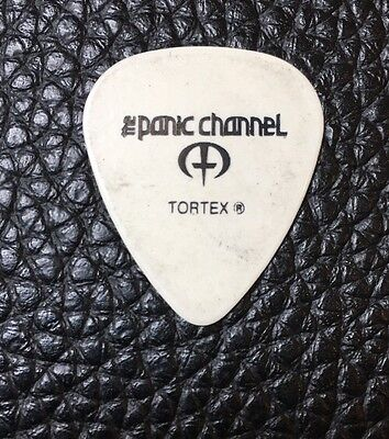 Guitar Pick  -The Panic Channel - Real Tour Guitar Pick