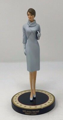 Hamilton Collection Melania Trump Figurine No. 0100A  Free Shipping
