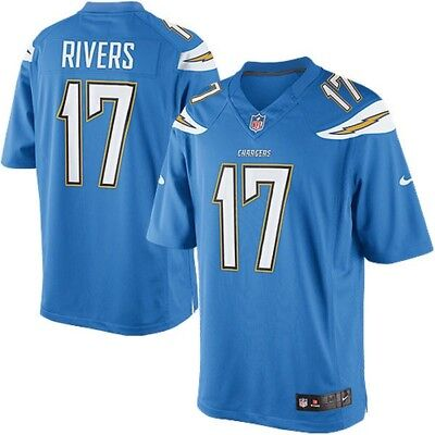 LOS ANGELES CHARGERS Philip Rivers Nike On Field Jersey NFL Size X