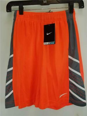 NWT $30 Nike Boys Basketball Breathable Stay Cool Athletic Shorts Youth sz S - L