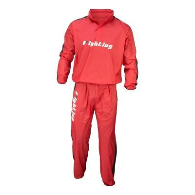 Fighting Sports Renew Hooded Sauna Suit - Red