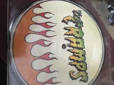 """The Cramps : Faster Pussycat & You Got Good Taste 7"""" Vinyl Single Picture Disc"""