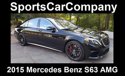 2015 Mercedes-Benz S-Class S63 AMG 2015 MERCEDES BENZ S63 AMG LOW MILE LOADED BEAUTY ULTIMATE LUXURY SEDAN