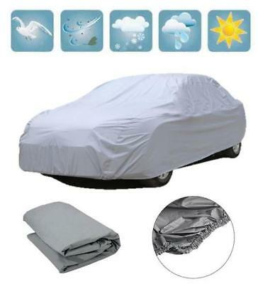 Medium Full Car Cover Uv Protection Waterproof Outdoor Indoor Breathable Chn