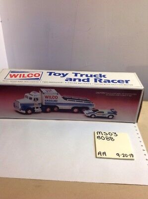 1992 Wilco Toy Truck and Racer Car -C MS