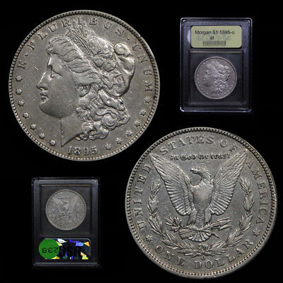 1895-O PCGS Morgan Silver Dollar $1 Graded XF Low Mintage Key Date Tough Coin