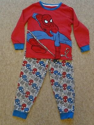 Boys Spiderman Pyjamas by Mothercare Size 4-5 years