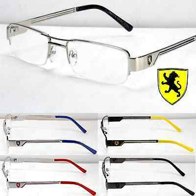 New Khan Clear Lens Rectangular Designer Eyeglasses Retro Fashion Mens Womens RX