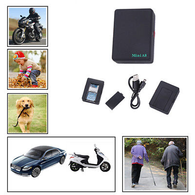 Mini Real Time GPS Tracker Globale Locator Tracking Device GSM Für Auto Kid Pet