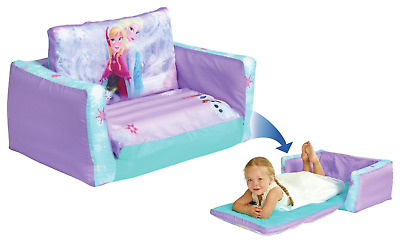 Disney Frozen Flip Out Sofa 2 in 1 Children's Furniture Inflatable Lounger Chair