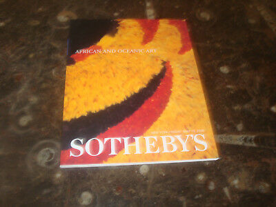 Auktionskatalog Sotheby`s African and Oceanic Art, New York 19.5.2000