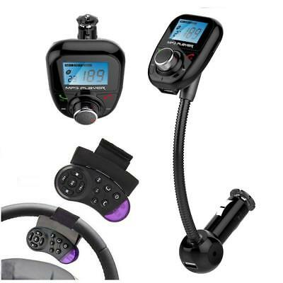 Bluetooth Transmetteur FM Auto MP3 Lecteur audio-drahtloser modulateur FM...