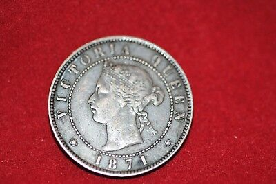 Prince Edward Island, Canada, 1871 One Cent in Extremely Fine/Very Fine