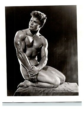 Vintage 4x5 Photo Bob Mizer AMG Athletic Model Guild Original Print 60-70s Male