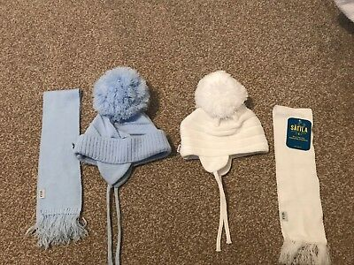 Satila Hat And Scarf Sets Age 18m-2yrs